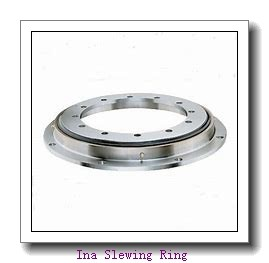 External gear light flanged slewing ring bearing for packing system