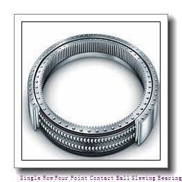 Big diameter single row  crossed roller slewing ring bearing with flange