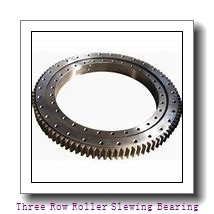 single row crossed roller slewing ring bearing  manufacturer for construction machinery