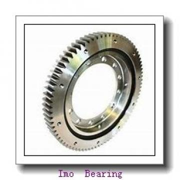 Light load thin section slewing ring turntable bearing with flange