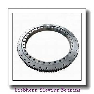 Robot welding  external gear or internal gear slewing ring bearing