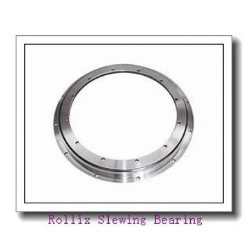 small single row ball  with external gear slewing ring bearing for crane
