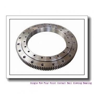 RU124G Crossed Roller Bearing black coat rust-proof