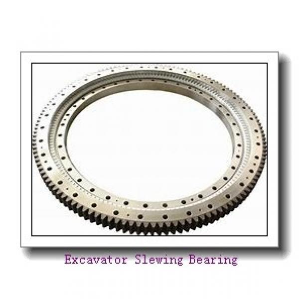 China Good Price Double Row Ball Slewing Bearing For Rotary Table #1 image