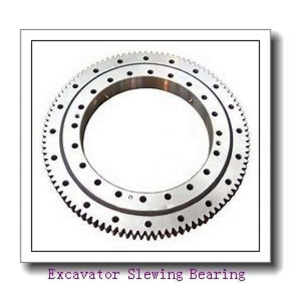 50 Mn  EX200-5 hardened  raceway and internal gear  slewing  bearing Retroceder #1 image