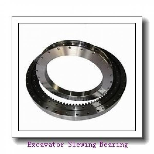 Three row roller slewing  bearing manufacturer for  crane truck #1 image