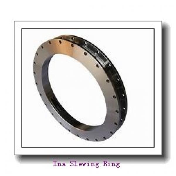 Applied In Canning Machinery Thin Section Flange Type Slewing Bearing #1 image