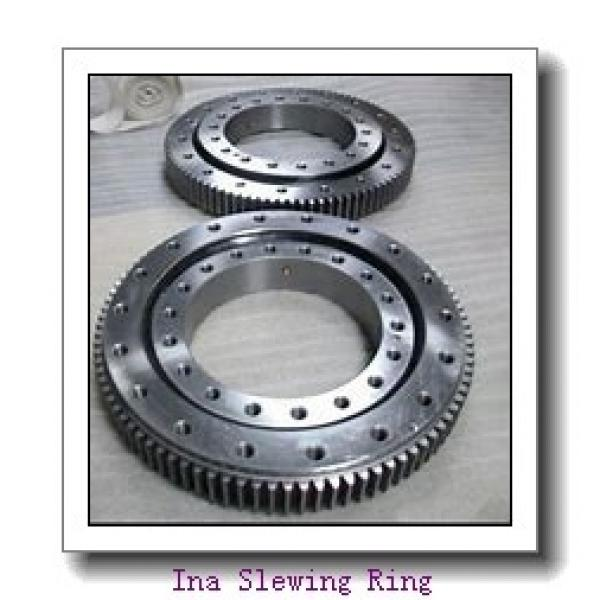 PC228 excavator internal Hardened gear 40 holes slewing ring  bearing Retroceder #2 image