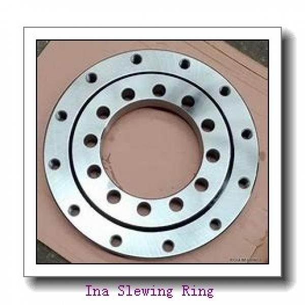 Applied In Canning Machinery Thin Section Flange Type Slewing Bearing #2 image