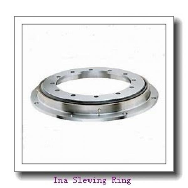 678 mm Bore x966.4mm OD x 82mm  height  Geared Thru Holes Slewing Ring bearing #2 image