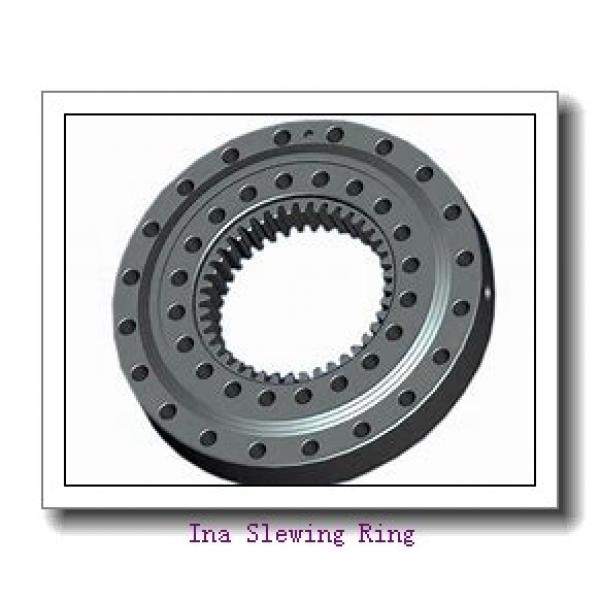 678 mm Bore x966.4mm OD x 82mm  height  Geared Thru Holes Slewing Ring bearing #1 image