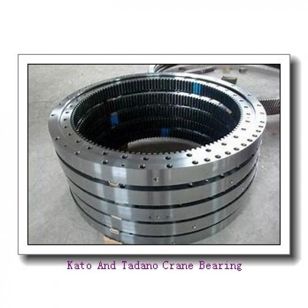 Single-Row Four Point Angular Contact Slewing Ball Bearing External Gear 9e-1b22-1087-1015 #2 image