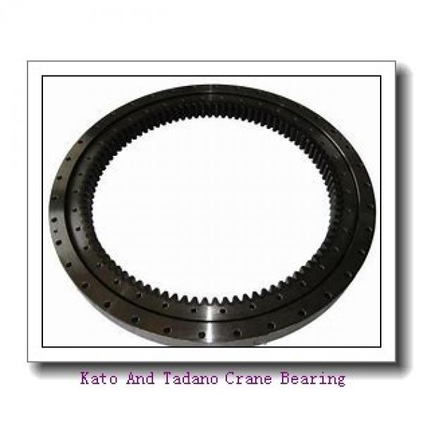 Double Row Four-Point Contact Slewing Bearing Non-Gear #3 image