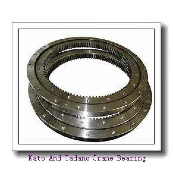 Double-Row Four Point Angular Contact Slewing Ball Bearing External Gear #1 image