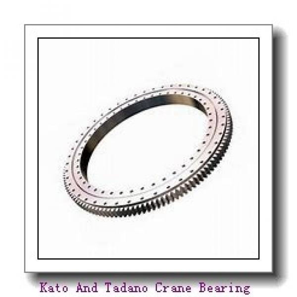 Wind Power Bearing Wind Power Generator Single Row Ball Slewing Bearing #1 image