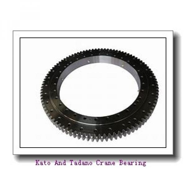 Single-Row Four Point Angular Contact Slewing Ball Bearing External Gear 9e-1b14-0179-0624-1 #2 image