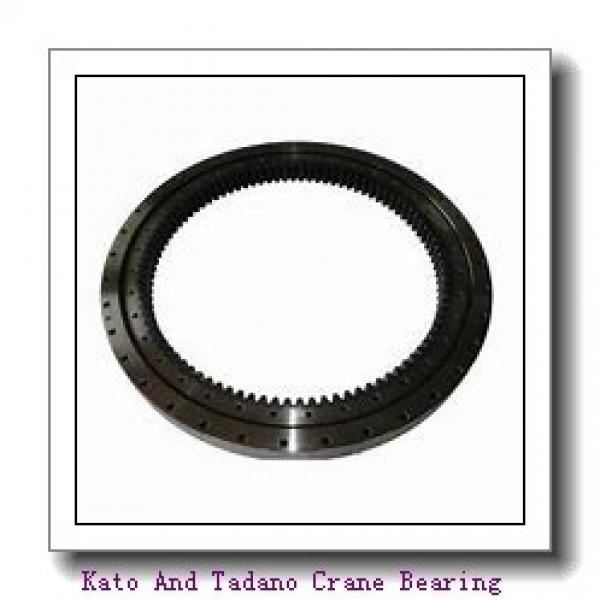 Single-Row Four Point Angular Contact Slewing Ball Bearing External Gear 9e-1b40-0876-1105 #1 image