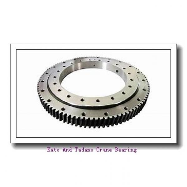 Single-Row Four Point Angular Contact Slewing Ball Bearing External Gear 9e-1b22-1087-1015 #3 image