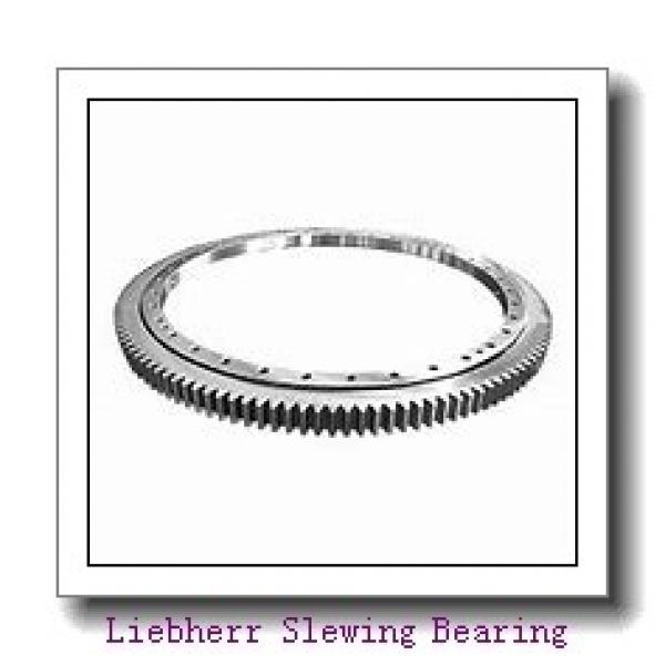Light Load More Flexible Thin Section Flange Type Slewing Bearing #1 image
