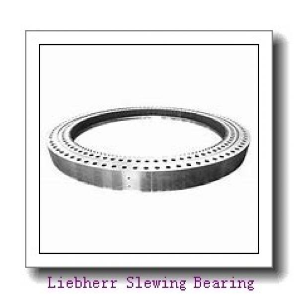 Light Type Nongeared Single Row Ball Slewing Bearing For Rotary Table #3 image