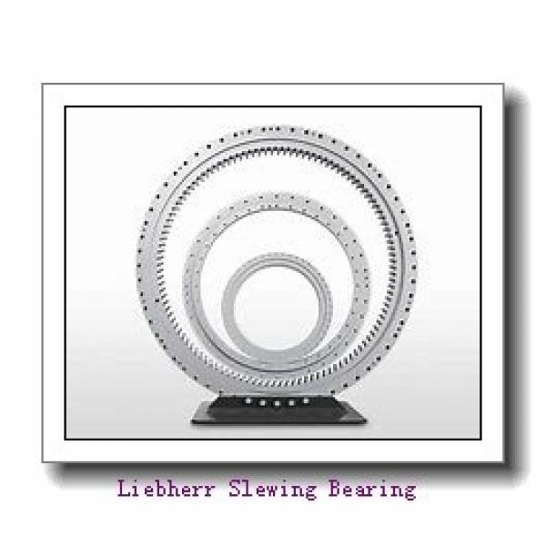 Light Type Nongeared Single Row Ball Slewing Bearing For Rotary Table #1 image