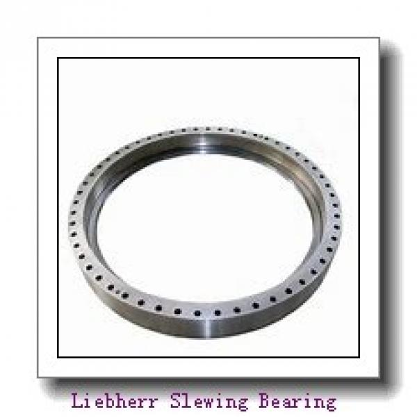 VLA200544-N Flanged Four point contact bearing (External gear teeth) #1 image