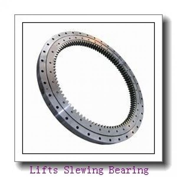 Excavator Outer Ring for Wind Turbine Single-Row Ball Slewing Bearing #1 image