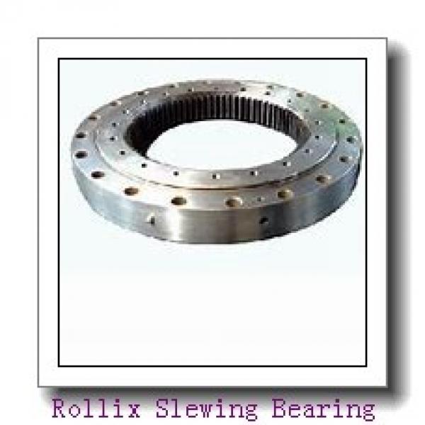 High Precision Double Row Ball Slewing Bearing For Tower Crane #3 image