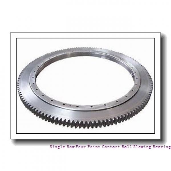 High Precision Light Type Thin Section Nongeared  Slewing Ring Bearing #1 image