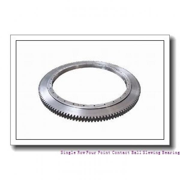 Light Load Thin Section Flange Type  External Gear Slewing Bearing #1 image