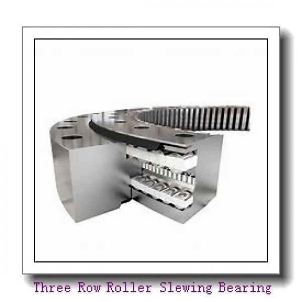 PC200-8 Hardened internal gear and raceway Excavator  slewing ring  bearing Retroceder #1 image