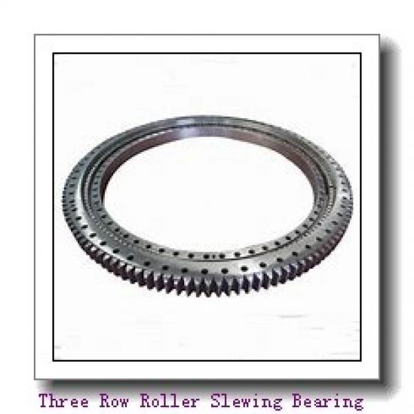 RK6-16P1Z slewing ring bearings with flange #1 image
