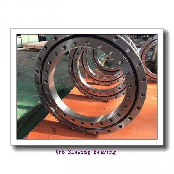 Used For Radar System Good Quality Single Worm WEA 14 Slewing Drive With Hydraulic Motor #2 image